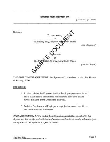 employee training agreement template .