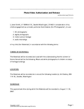 Free Photo/Video Consent Agreement (Nigeria) - Legal Templates ...