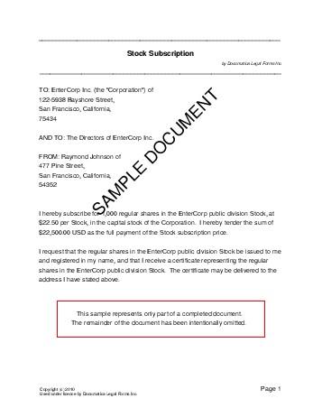 Share subscription pakistan legal templates agreements pakistan share subscription yelopaper Gallery
